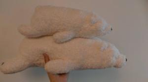 小熊玩偶抱枕